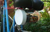 Bolsa de sillín de bicicleta tarro plástico