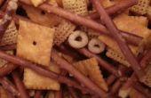 Adictivo de ajo mantequilla Snack Mix