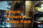 Rack simple abrazadera Universal