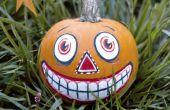 Vintage DIY había inspirado pintada de calabaza para Halloween!