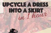 Moda de reciclado: Bibliotecario DIY falda Chic