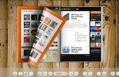 Cómo hacer un catálogo Flash con efecto de vuelta de página