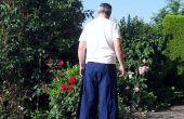 A coser verano abrigo alrededor pantalones