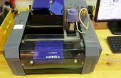 Cómo utilizar MDX-20 para hacer los moldes
