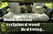Proyecto Snooze: Cómo construir un columpio de cama fácil utilizando madera recuperada.