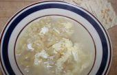 Sopa de mantequilla