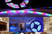 Acento/decoración de iluminación RGB LED de iluminación tiras