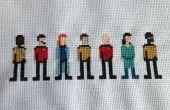 Punto de Cruz de Star Trek: El próxima generación equipo