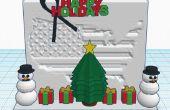 Escena de Navidad de Estados Unidos