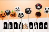 Halloween temáticas Brownie Cake Pops