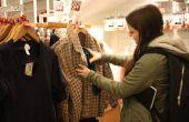 Cómo guardar ropa o cualquier artículo por sí mismo sólo cuando vas de compras!