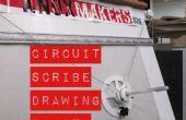 Circuito escriba dibujo Robot