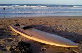 Reciclado de madera tablas de surf de madera huecos - 9'2