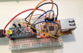 Arduino Nano con WIZ550io = Internet fácil