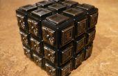 BRICOLAJE - Cubo - cubo del ciego - Metal Rubiks cubo de Rubik