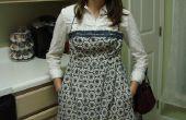 Antiguo vestido delantal nuevo