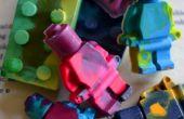LEGO de Upcycled crayones