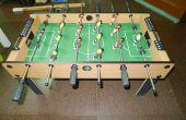 DIY el futbolín de pierna plegable