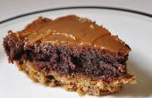 Pastel de Brownie de galletas