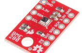 Twitter datos de los sensores con Arduino RedBoard y SparkFun BME280 y SparkFun ESP8266 escudo