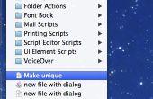 AppleScript para hacer los nombres de archivo únicos