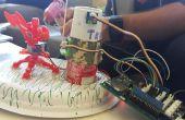 3-d impreso madera gato Robot