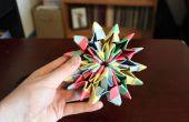Cómo hacer Origami Fireworks