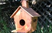 Make a Birdhouse Using the Laser Cutter