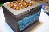 Tutoriales dados caja roll, fantasía inspirado hielo y fuego