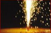 Cómo hacer fuegos artificiales fuente