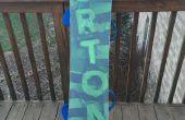 Cómo encerar una tabla de snowboard