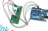 Usando arduino Serial UART 16 x 2 LCD