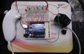 Arduino Wii nunchuck y Wii motion plus con actualizado código IDE 1.0.2 y LEDs