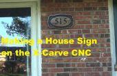 Hacer un cartel de casa de madera en CNC