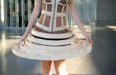 El vestido hecho de madera