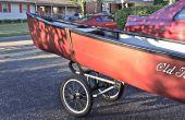 Canoa/Kayak Caddy mod de un cochecito de Jogging