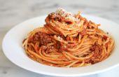 Cómo hacer espaguetis en unos simples pasos