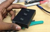 Interruptor simple de la pequeña caja para proyectos de electrónica DIY Mini DV Cassette Hack