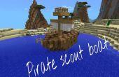 Barco de Scout de pirata Minecraft Pe