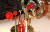 Un proyecto de motor de Stirling