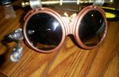 Dirigible capitanes Steampunk gafas