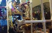 PVC tubería pájaro playgym