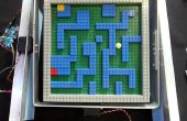 Arduino controlado laberinto de mármol