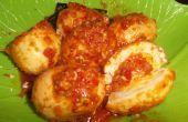 Balado huevos especial de INDONESIA