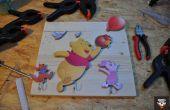 Percha de Winnie the Pooh