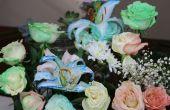 Cómo Tie Dye flores utilizando Osmosis