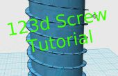 Cómo hacer un tornillo y una rosca en el 123d diseño