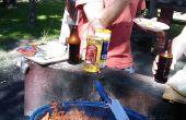 Ahumado de pez espada Tacos estilo Baja California