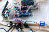 GSM sistema basado en el control de la calidad del agua y sistema de notificación utilizando Arduino.