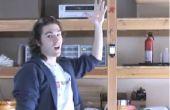 Laser-control iPod moviendo las manos
